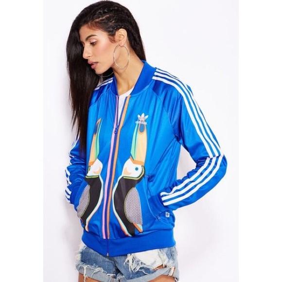 ab973cc913c0 adidas Tops - Adidas Toucan track jacket